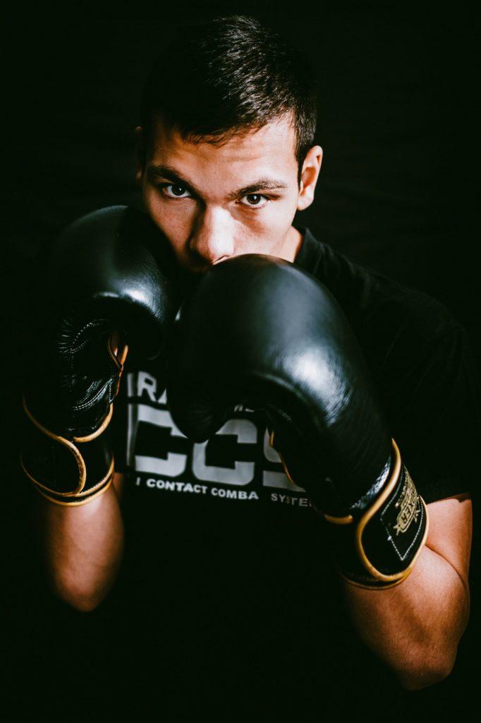position de garde en boxe